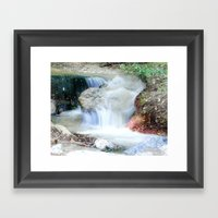 Letting the Days Go By Framed Art Print