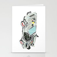 The Delorean Stationery Cards