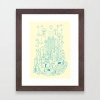 Kuala Lumpur Framed Art Print