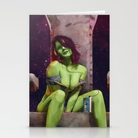 Gamora of Thrones Stationery Cards