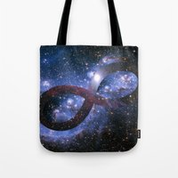 Infinty And Beyond Tote Bag