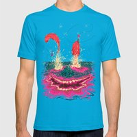 Fisgados Mens Fitted Tee Teal SMALL