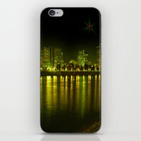 Emerald City Of Roses iPhone & iPod Skin