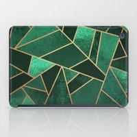 Emerald and Copper iPad Case
