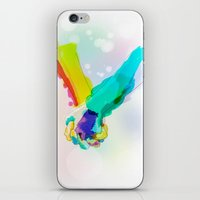 Forget The Words iPhone & iPod Skin