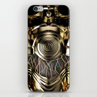 C-3PO Iphone protocol droid case. iPhone & iPod Skin