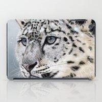 Snow Leopard iPad Case