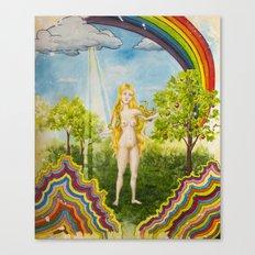 The Temptation of Eve Canvas Print