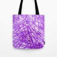 Ophelia Purple Tote Bag