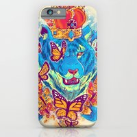 iPhone & iPod Case featuring The Siberian Monarch by ELECTRICMETHOD.NET