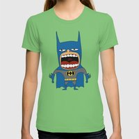 Screaming Batdude Womens Fitted Tee Grass SMALL