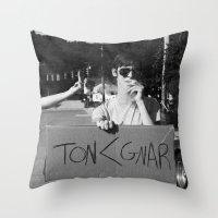 TON Throw Pillow