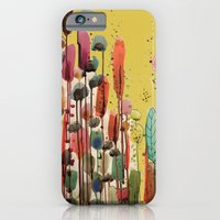 iPhone & iPod Case featuring if spring is there by sylvie demers