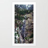 Mountain Pano Art Print