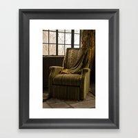 Abandoned Green Nunnery … Framed Art Print