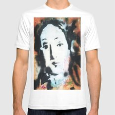 VENUSIAN FACE IN RED White Mens Fitted Tee SMALL