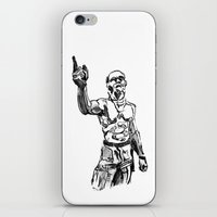 Techno Viking Love  iPhone & iPod Skin