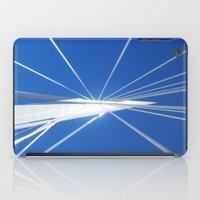 White Suspension iPad Case
