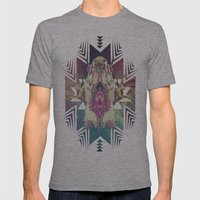 Tiger Chaman  Mens Fitted Tee Athletic Grey SMALL