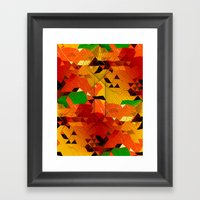Here come the... Framed Art Print
