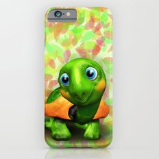 Green Turtle Baby 3D iPhone 6 Slim Case