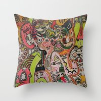Miles Davies Throw Pillow