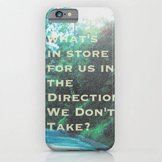 What Will Become of Us iPhone & iPod Case