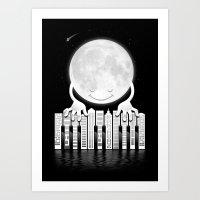 City Tunes Art Print
