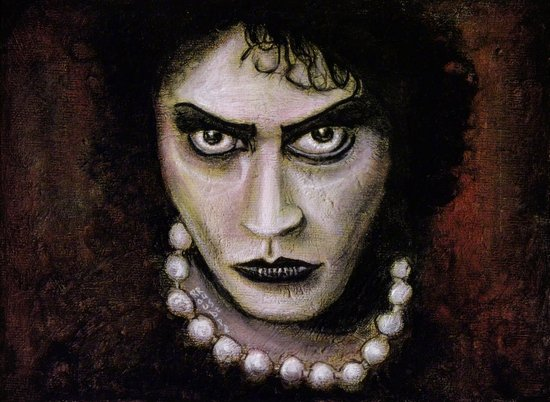 The Rocky Horror Picture Show: Dr. Frank-N-Furter Canvas Print