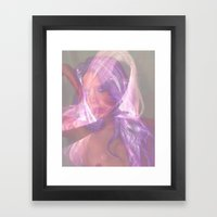 Superimposed Self Outtake Framed Art Print