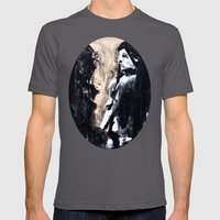 Reflections Mens Fitted Tee Asphalt SMALL