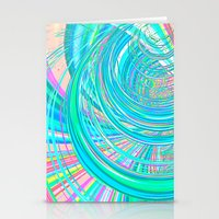 Re-Created  Hurricane 7 by Robert S. Lee Stationery Cards