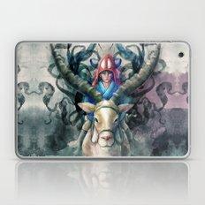 Ashitaka Demon Watercolor Digital Painting Laptop & iPad Skin