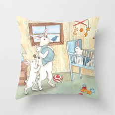 Nursery Throw Pillow