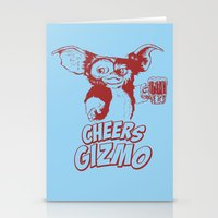 Cheers Gizmo Stationery Cards