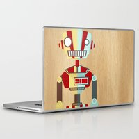 robot Laptop & iPad Skins featuring Robot by LindseyCowley
