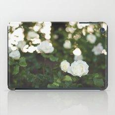 White Roses iPad Case