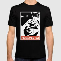 Obey Forever 23 Mens Fitted Tee Black SMALL