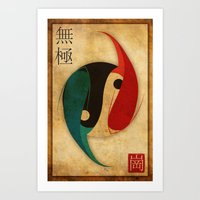 The Infinity Fish Art Print