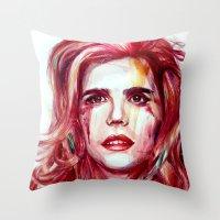 Paloma Faith Throw Pillow