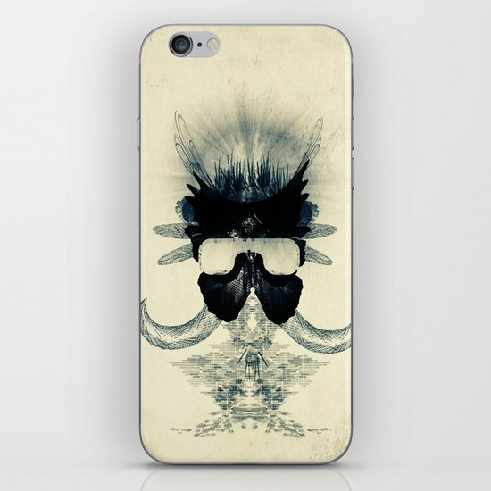 A black angel from Aksoum iPhone & iPod Skin
