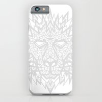 Heart of a Lion - Gray iPhone 6 Slim Case