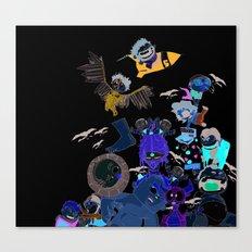 Baby Gilliam Canvas Print