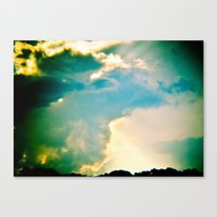 Double, double, toil and trouble Canvas Print