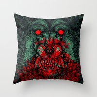 A Wolf In The Shape Of A… Throw Pillow