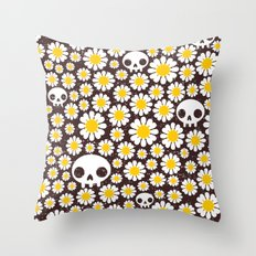 Camomile. Throw Pillow