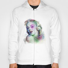 Marilyn under brushes effects Hoody