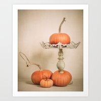 Autumn Pumpkin Art Print
