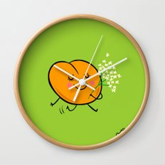 Apricot St Germain Wall Clock