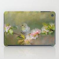Goldfinch In The Garden 2 iPad Case